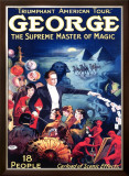 George the Supreme Master of Magic Framed Giclee Print