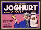 Joghurt Framed Giclee Print by J. Loe