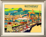 Rothesay Framed Giclee Print by Fred Taylor
