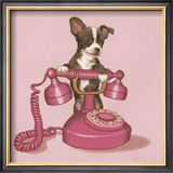 Ring Bell Print by Maryline Cazenave
