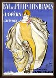 Bal des Petits Lits Blancs Framed Giclee Print by Marcel Vertes