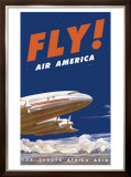 Air America Tristar Framed Giclee Print