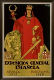 Exposicion General Epanola Framed Giclee Print by  Hohenleiter
