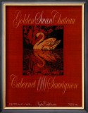 Golden Swan Poster by Ralph Burch