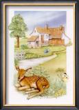 Spring, Deer Poster