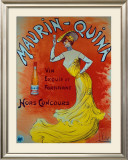 Maurin Quina Framed Giclee Print by L. Vallet