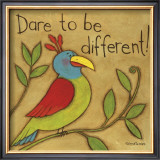 Be Different Prints by Anne Tavoletti