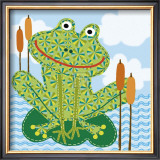 Frankie the Frog Prints by Jessie Eckel