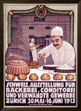 Backerei Conditorei Framed Giclee Print by R. Weiss