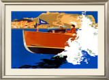 Scarborough, LNER Poster, 1930 Framed Giclee Print by Frank Newbould