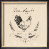 Chicken Appetite Prints by Marco Fabiano