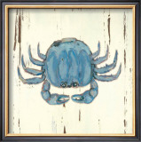 Blue Crab Print by Grace Pullen