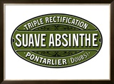 Sauve Absinthe Label, c 1900 Framed Giclee Print by Jacques Nathan-Garamond