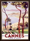Cannes Framed Giclee Print by  Peri