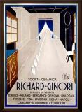Richard Ginori Framed Giclee Print
