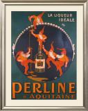 Liqueur Perline Framed Giclee Print