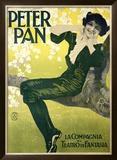 Peter Pan Framed Giclee Print