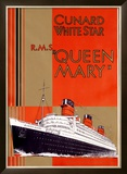 Queen Mary Framed Giclee Print by  Jarvis