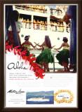 Aloha, Matson Lurline Framed Giclee Print