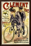 Clement Bicycles Framed Giclee Print by A. Gilbert