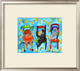 Monkey Chair Posters by Deborah Cavenaugh