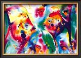 Angel Fish Prints by Alfred Gockel