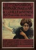 VIieme Exposition Internationalle d'Art de la Ville de Venise Framed Giclee Print by Ettore Tito