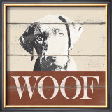 Woof Posters by Krissi 