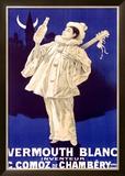 Vermouth Blanc Comoz de Chambery Framed Giclee Print