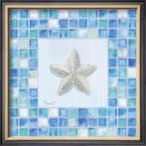 Mosaic Starfish Prints by Paul Brent