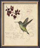 Filigree Hummingbird Art by Chad Barrett