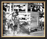 Wild West Rodeo Framed Giclee Print