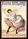 Folies Bergere Framed Giclee Print