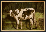 Global Cow Poster by Barry Downard