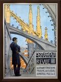 Obrazkova Revue Framed Giclee Print by Arnost Hofbauer
