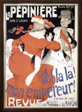 La Pepiniere, Oh la La Mon Empereur Framed Giclee Print by Jules-Alexandre Grün