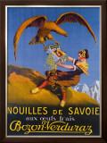 Nouilles de Svoie Framed Giclee Print by E.l. Cousyn
