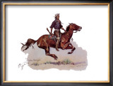 Crow Scout Prints by Frederic Sackrider Remington
