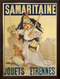 Samaritaine Framed Giclee Print by Firmin Etienne Bouisset