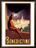 Benedictine Framed Giclee Print by Leonetto Cappiello