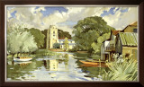 Huntingdonshire Framed Giclee Print by Weston
