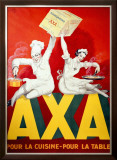 AXA Margerine Framed Giclee Print