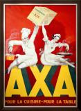 AXA Margerine Framed Giclee Print