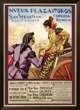 Spanish Bullfight, 1928 Framed Giclee Print