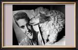 Toy Poodle Kisses Elvis Art