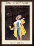 Biere du Fort Carre Framed Giclee Print by Leonetto Cappiello