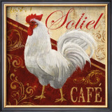 Soliel Cafe Prints by Conrad Knutsen
