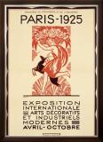 Paris Art Exposition, c.1925 Framed Giclee Print by Robert Bonfils