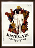 Buvez du Vin Framed Giclee Print by Leonetto Cappiello