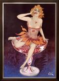 Liqueur Maquette Framed Giclee Print by Emilio Vila